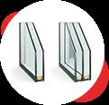 Замена однокамерных стеклопакетов на двухкамерные